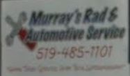 Murray's Rad & Automotive Service